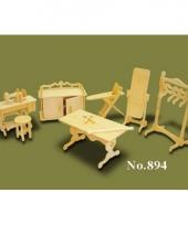 Poppenhuis meubeltjes kledingatelier
