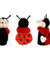 Poppenkast handpop lieveheersbeestje