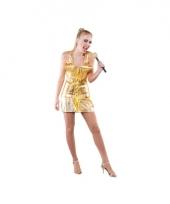 Popsterren outfit goud voor dames