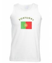 Portugal vlaggen tanktop t-shirt