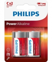 Powerlife alkaline lr14 c batterij set