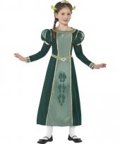 Princess fiona jurk voor meisjes
