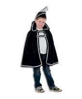Prins carnaval kinder kleding zwart