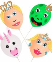 Prins en prinses ballonnen setje