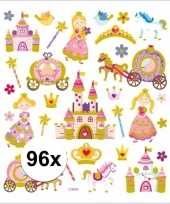 Prinses thema kinder stickers 10113441