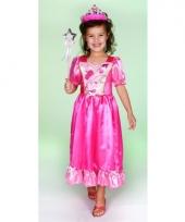 Prinsessen jurk roze voor meisjes