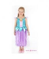 Prinsessen jurkje blauw paars voor meisjes