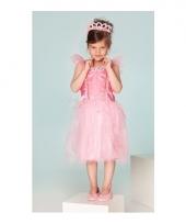 Prinsessen jurkje fuchsia voor meisjes