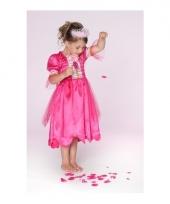Prinsessen jurkje fuchsiaroze voor meisjes