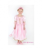 Prinsessen jurkje lichtroze voor meisjes