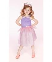 Prinsessen jurkje lila voor meisjes