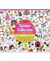Prinsessen stickers 700 stuks
