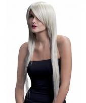 Professionele damespruiken lang blond stijl haar