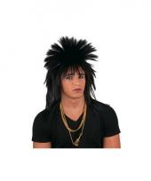 Punkerspruik zwart voor volwassenen