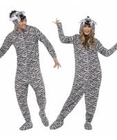 Pyamapak zebra voor dames en heren