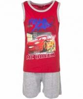 Pyjama met grijze korte broek cars 10086679