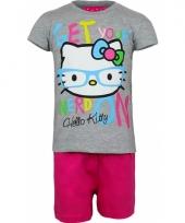 Pyjama met korte broek hello kitty 10070767
