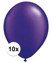 Qualatex parel paars ballonnen 10 stuks