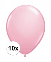 Qualatex roze ballonnen 10 stuks