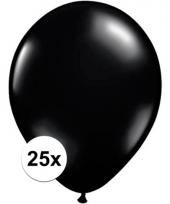 Qualatex zwarte ballonnen 25 stuks