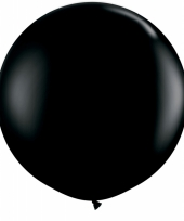 Qualatex zwarte mega ballon 90 cm