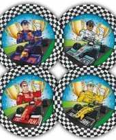Race formule 1 kinderfeestje bordjes 23 cm