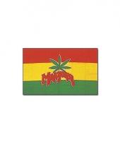 Rasta marihuana vlag