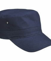 Rebel militairy cap navy