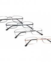 Rechthoekige leesbril 1 50