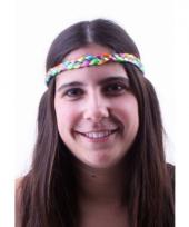 Regenboog haarbandje