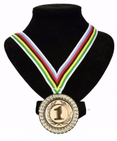 Regenboogtrui kleuren nr 1 halslint wereldkampioen