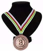 Regenboogtrui kleuren nr 3 halslint wereldkampioen