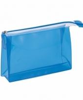 Reis toilettas blauw 17 cm