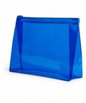 Reis toilettasje blauw 17 cm