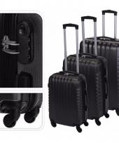Reiskoffertje grijs met slot 72 cm