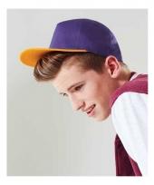 Retro baseball cap voor kinderen
