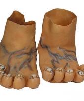 Reuze nep voeten
