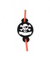 Rietjes piraat doodshoofd8x