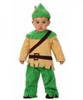 Robin hood outfit voor een baby