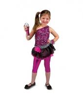 Rockchick verkleedkleding voor meisjes