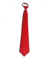 Rode carnavals stropdassen 46 cm