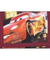 Rode cars portemonnee