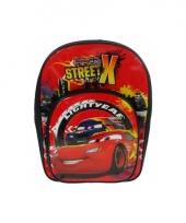 Rode cars rugzak 36 cm