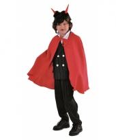 Rode duivels cape kinderen