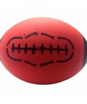 Rode foam rugby bal 24 cm