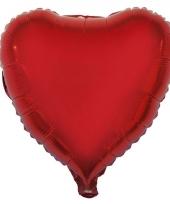Rode hartjes folieballonnen 52 cm