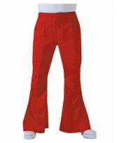 Rode hippie heren broek