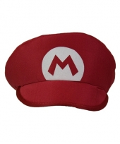 Rode loodgieter mario pet