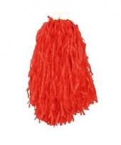 Rode pompoms 28 cm