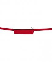 Rode reis portemonnee riem 80 107 cm